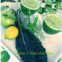 Estratto di succo verde depurativo e antiossidante