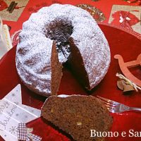 torta Pan di Zenzero Gingerbread cake
