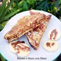 Fit French toast al cocco