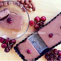 Cheesecake Vegan nocciole e cacao