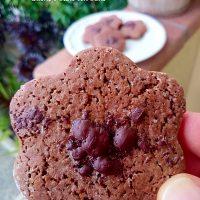 Biscotti fit di frolla al cacao