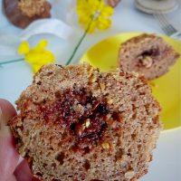 Muffins di castagne fit