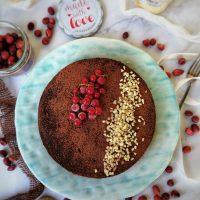 Torta al cioccolato light