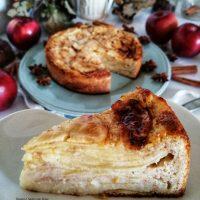 Torta di mele Invisibile senza glutine