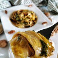 Pappardelle Cremose Vegetariane