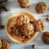 Biscotti con fiocchi di Avena alle nocciole