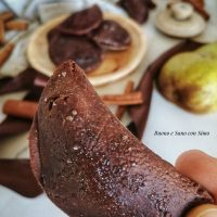 Biscotti Vegani al Cacao Cuor di Pera