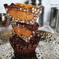Coppette di Cioccolato al Burro di Arachidi