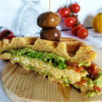 Waffle Salato senza Glutine